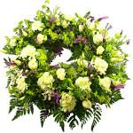 Cottage Garden Wreath from £49.90