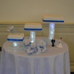 3 Acrylic Cake Stand £20 to hire