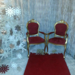 King & Queen Chair £189 for the pair to hire or £99 for one