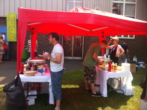 BBQ for a Charity Day