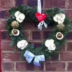 Heart Christmas Wreath