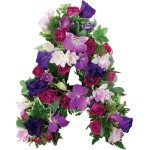 Loose Letter with seasonal flowers from £34.90