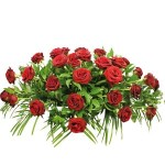 Red Rose Casket Spray from £169.90