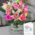 Rose & Lily Bouquet from £28.90