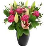Rose & Lily Bouquet from £24.90