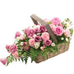 Rosy Flower Basket from £34.90