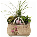 Valentines Handled Basket