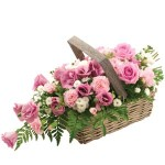rosy basket from £34.90