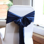 Navy Satin No 99