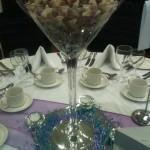 Cola Bottles Sweets in Martini Vase