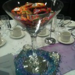 Moams Sweets in Martini Vase